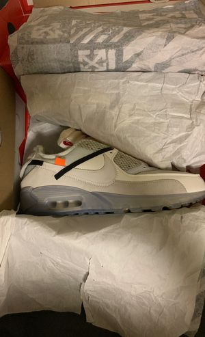 Off white x Nike Air Max 90 OG Size 10 for Sale in Seattle, WA