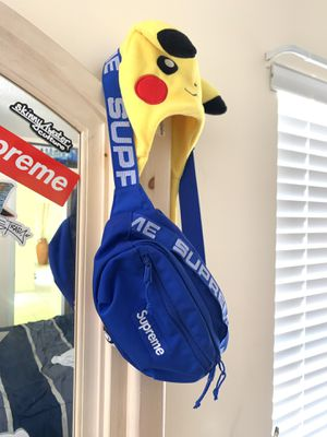 Supreme SS18 Waist Bag Royal Blue for Sale in Miami, FL