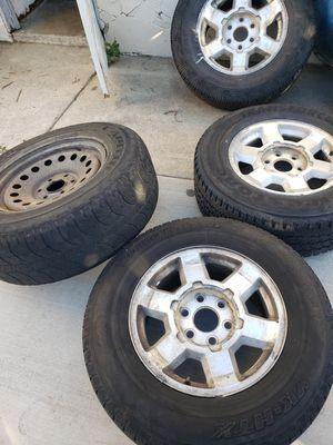 Llantas para Chevrolet Silverado free for Sale in Orange, CA