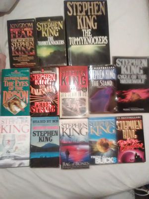 Lot of Stephen King books for Sale in Payson, AZ