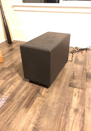 Polk Audio PSW 120 Powered Subwoofer for Sale in Seattle, WA