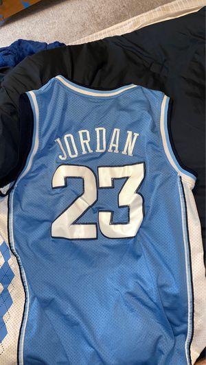 Michael Jordan UNC Jersey for Sale in Fairfax Station, VA