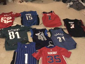 Nba and nfl jerseys for Sale in Mount Airy, MD