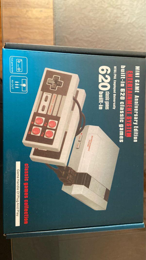 Retro mini game , 620 built in arcade games 🕹 mini Nintendo edition