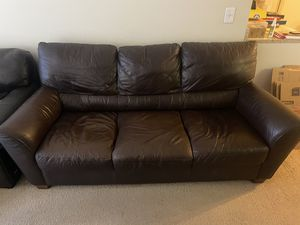IKEA Brown Sofa for Sale in Beverly Hills, CA
