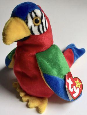 "Ty Beanie Babies ""Jabber"" Parrot for Sale for sale  Colchester, VT"