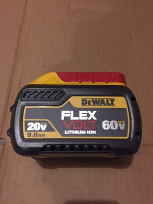 New Dewalt Flexvolt 9AH Battery For Sale for Sale in Mukilteo, WA
