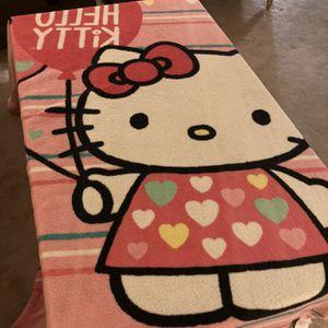 Full Size Plush Hello Kitty Throw Blanket for Sale in West Sacramento, CA