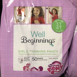 Training Pants/Pull Up Diapers - My Little Pony 3T/4T 50CT for Sale for sale  Kissimmee, FL