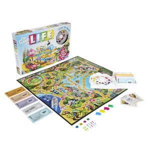 The Game of Life, for Kids Ages 8 and Up, 2-4 Players for Sale in Houston, TX