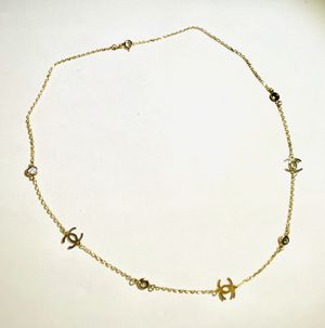 Vintage CC necklace 14kt gold for Sale in Los Angeles, CA