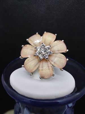 Jeweled Floral Stretch Ring for Sale in Grove City, OH