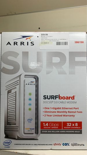 Arris SurfBoard Gigabit Router for Sale in Port Orange, FL