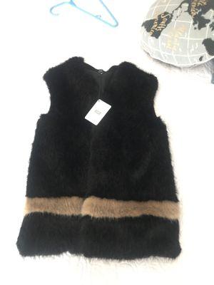 Faux fur vest for Sale in Des Plaines, IL
