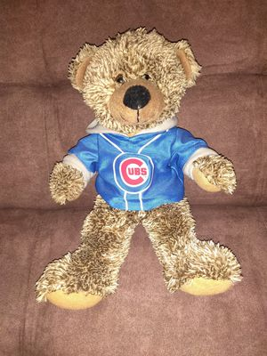 NEW medium size Chicago Cubs teddy bear for Sale in Palatine, IL