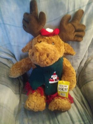 Christmas stuffed animal. for Sale in Hudson, FL