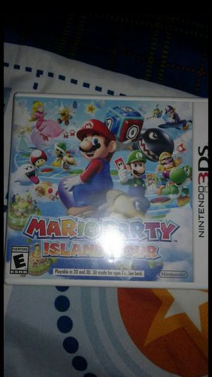 Mario party island tour 3ds for Sale in Dearborn Heights, MI