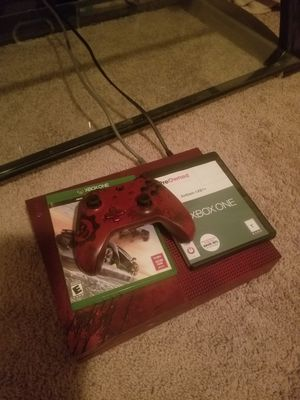 Gear of war 4 special edition xbox one 4k resolution 2tb hdd with 2 games for Sale in Aurora, CO