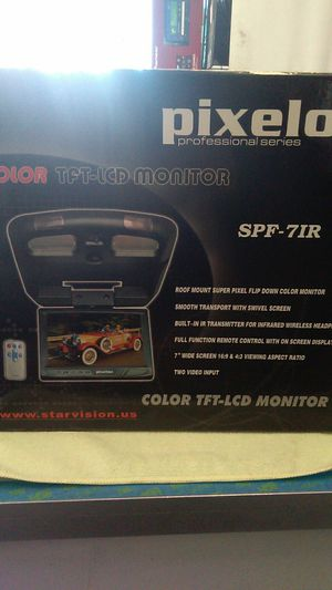 Flipdown monitor for Sale in Moreno Valley, CA