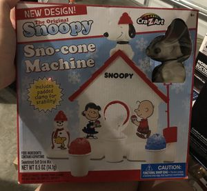 Snoopy sno cone machine for Sale in Port St. Lucie, FL