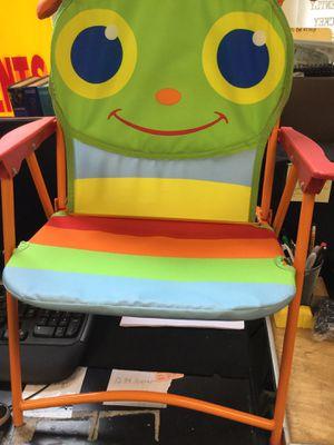 Caterpillar folding chair for Sale in Matawan, NJ