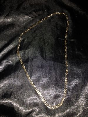 14 k gold plated chain for Sale in Stockton, CA