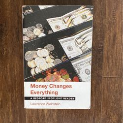 Money Changes Everything Book for Sale in Los Angeles,  CA