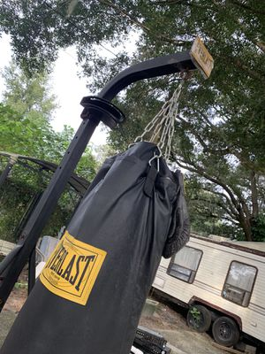 Punching bag for Sale in Lakeland, FL