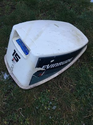 Evinrude 15 horse power outboard motor cover for Sale in Camano, WA