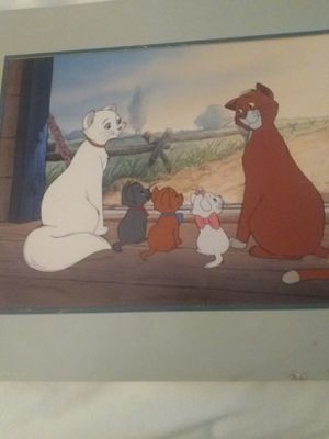 DISNEY'S THE ARISTOCATS LITHOGRAPH 1996 for Sale in Greenville, SC
