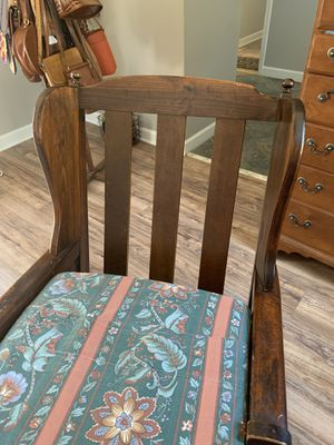 Antique gliding chair for Sale in Garner, NC