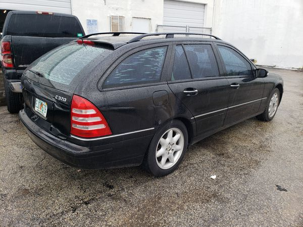 Parting out Mercedes c class