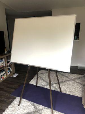 """55"""" White Board + Stand OBO **rare find** for Sale in Kirkland, WA"""