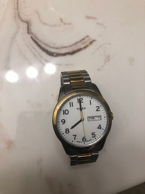Gold watch stainless steel for Sale in Upper Marlboro, MD