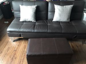 Muti position futon with ottoman for sale..Best offer for Sale in Fontana, CA