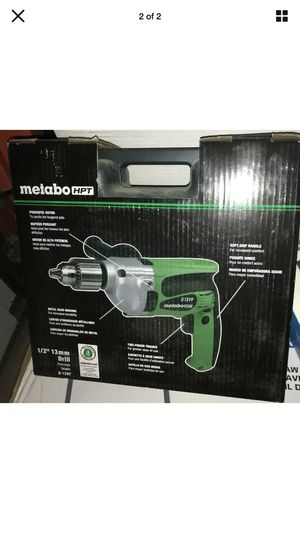 Brand new never used metabo corded drill for Sale in Rocky Hill, CT