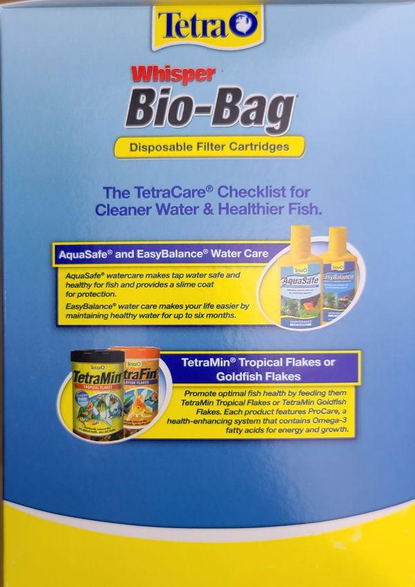 Tetra® Whisper Bio-Bag Disposable Filter Cartridge 12-Pack Large