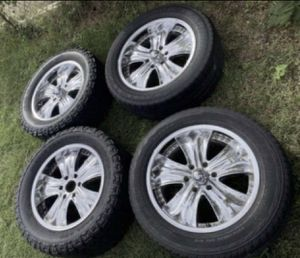 "20"" CHEVY RIMS $350 or best offer for Sale in Dallas, TX"
