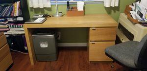 Wood Desk for Sale in Stockton, CA