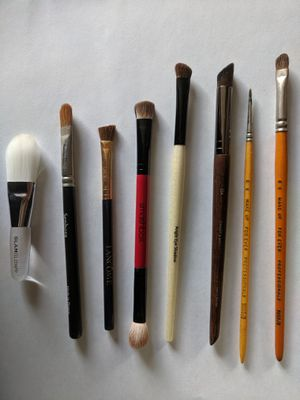 Eye Makeup Brushes: Make Up For Ever, Bobby Brown, Sephora, Lancome, Smashbox & Glamglow for Sale in Seattle, WA