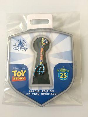 Toy Story 25th Anniversary Collectible Key Pin – Special for Sale in La Puente, CA