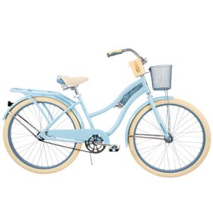 "Huffy 26"" Womens Nel Lusso Cruiser Bike with Perfect Fit Frame, light Blue for Sale in Naperville, IL"