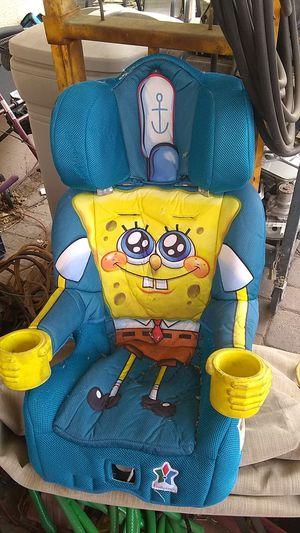 Child's booster car seat- SpongeBob SquarePants for Sale in Las Vegas, NV