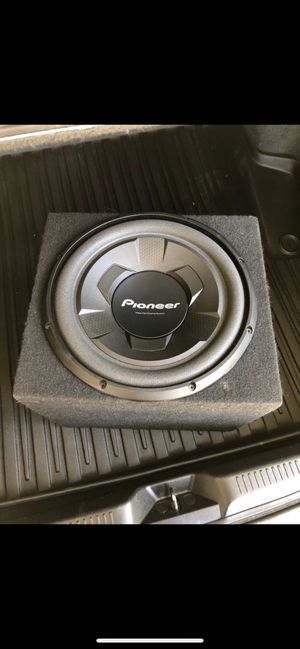 12in pioneer subwoofer for Sale in Anaheim, CA