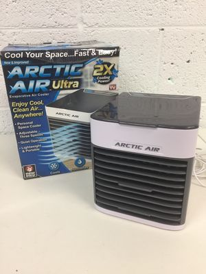 Arctic Air Small Desk Top Cool Air Conditioner Fan Evaporative Air Cooler for Sale in Mesa, AZ