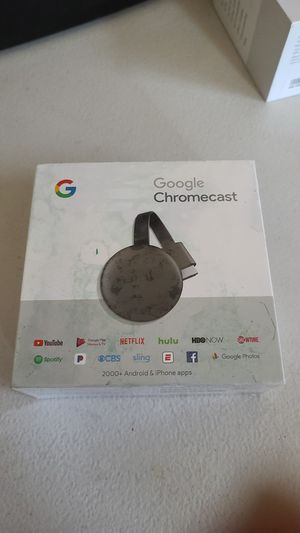 Google Chromecast brand new for Sale in Lake View Terrace, CA
