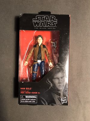 Star Wars Hasbro Han Solo action figure for Sale in Lowell, MA