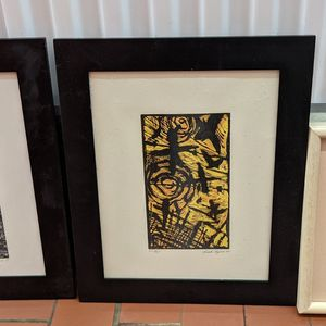 3 Artist Signed & Numbered Lithographs for Sale in Burlingame, CA