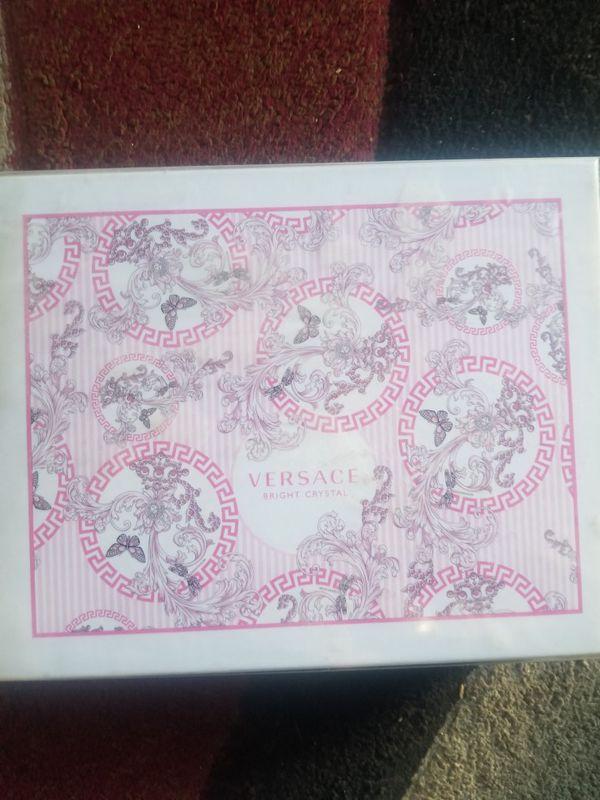 Ladies Versace perfume set