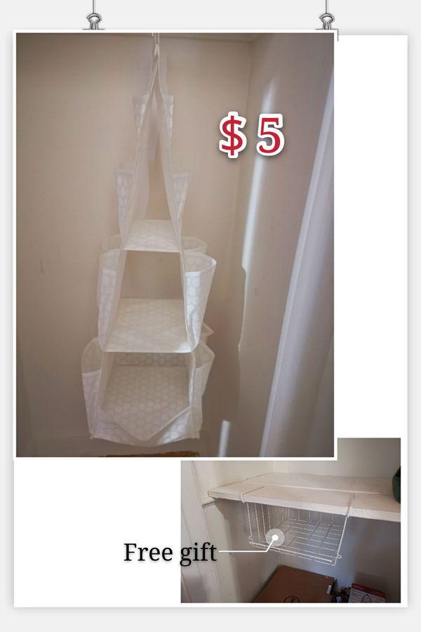 Hanging organizer(Free gift)